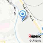 МФ Приволжский на карте Астрахани