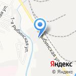 АлимпА на карте Астрахани