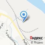 Умелец на карте Астрахани