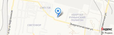 АстраханьПассажирТранс на карте Астрахани