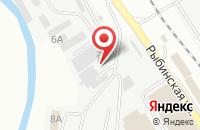 Схема проезда до компании А-Мета в Астрахани