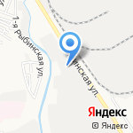 Электрощит на карте Астрахани