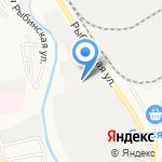 Витраград на карте Астрахани