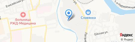 Пиканта на карте Астрахани