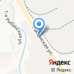 Астраханский завод Каскад на карте Астрахани