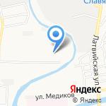 РадАмир на карте Астрахани