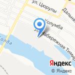 ДизельВолгоСнаб на карте Астрахани
