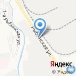Мир сетки на карте Астрахани