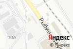 Схема проезда до компании Мир сетки в Астрахани