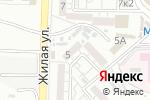 Схема проезда до компании Элина в Астрахани