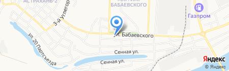 Магазин автостекла на карте Астрахани