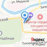 ВиллаБаня на карте Астрахани