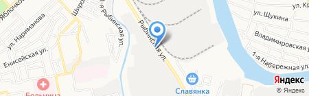 Комфорт Плюс на карте Астрахани