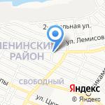 ДС на карте Астрахани
