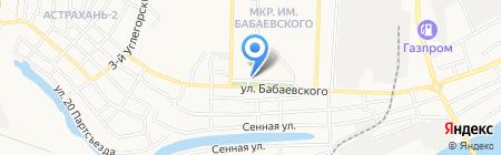 АстСервисЦентр на карте Астрахани