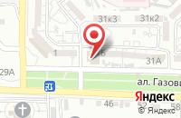 Схема проезда до компании Астрадор в Астрахани