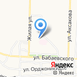 АвиаСервис на карте Астрахани