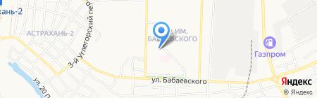 Домашний текстиль на карте Астрахани