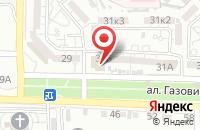 Схема проезда до компании Астраханский центр профессиональной подготовки и повышения квалификации кадров Федерального дорожного агентства в Астрахани