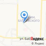 Глянец на карте Астрахани