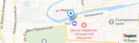 SULTAN на карте Астрахани