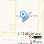 Волжаночка на карте Астрахани