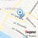 Авто-форсаж на карте Астрахани