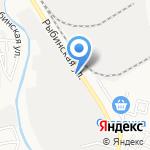Мегасвет на карте Астрахани