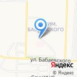 Kontrast Promenade на карте Астрахани