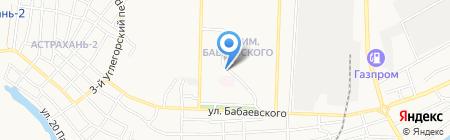 Контраст Promenade на карте Астрахани