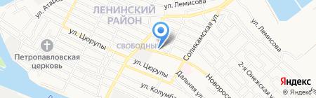 Рамадан на карте Астрахани