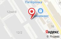 Схема проезда до компании АстрАлко в Астрахани