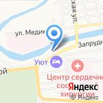 Malibu на карте Астрахани
