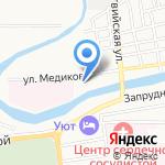 Шанель на карте Астрахани