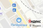 Схема проезда до компании КРАСИВЫЕ ДВЕРИ в Астрахани