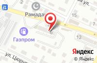 Схема проезда до компании Пенная бухта в Астрахани