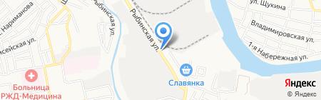 Салон-магазин жалюзи на карте Астрахани