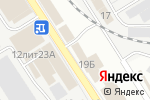 Схема проезда до компании Магазин по продаже кровли и крепежа в Астрахани