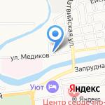 Терапевт на карте Астрахани