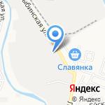Апрель на карте Астрахани