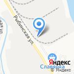 Строитель Астрахани на карте Астрахани