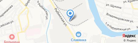 Строительное управление №30 на карте Астрахани