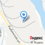 Трансспецперевозки на карте Астрахани