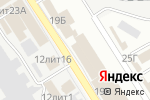 Схема проезда до компании Изба Красна в Астрахани
