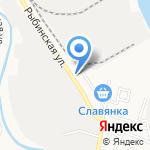 Марлин на карте Астрахани