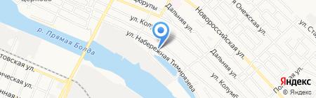Лотос СБ на карте Астрахани