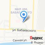 Вита на карте Астрахани