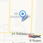 ГАФ на карте Астрахани