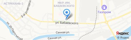 Агентство недвижимости на карте Астрахани