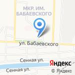 Нотариус Калмыкова В.Г. на карте Астрахани